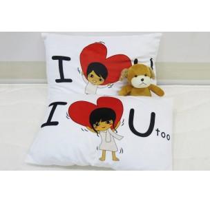 CN-048 Gối cặp I love you